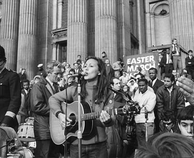 Photograph - Musical Protest by Jim Gray