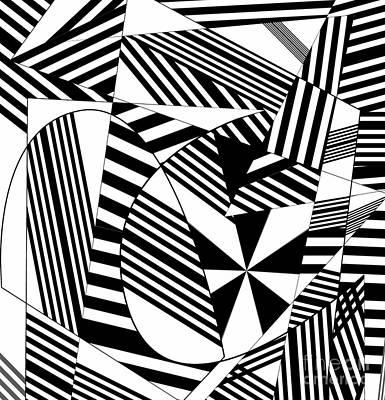 Digital Art - Musical Score, 2019, Gradient by Alex Caminker