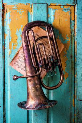 Tuba Wall Art - Photograph - Musical Still Life by Garry Gay