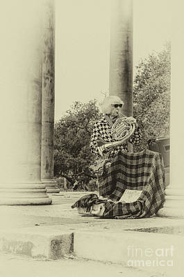Musicians Royalty Free Images - Musician in City Park NOLA Royalty-Free Image by Kathleen K Parker