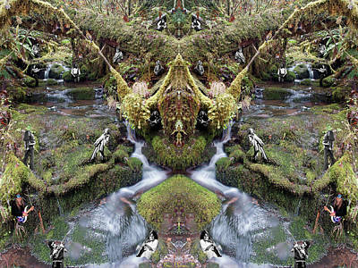 Photograph - Musicreek #1 Mirrored by Ben Upham