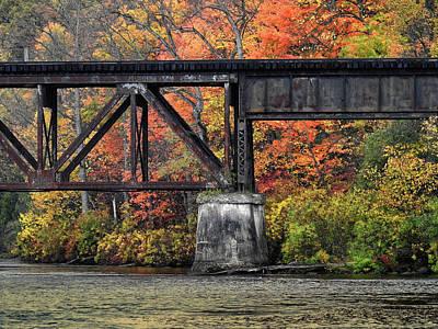 Photograph - Muskegon River 10221702 by Rick Veldman