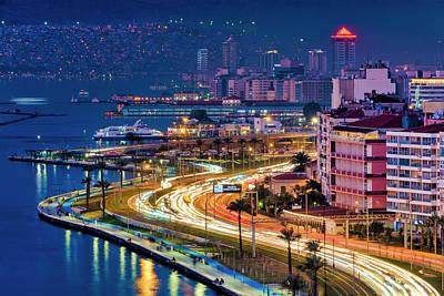Photograph - Mustafa Kemal Coastal Boulevard by Fabrizio Troiani