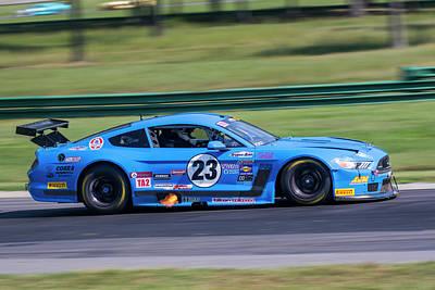 Photograph - Mustang 23 Vogt  Ta2 by Alan Raasch