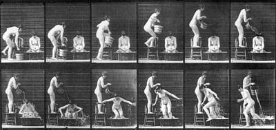 Photograph - Muybridge Images by Eadweard Muybridge