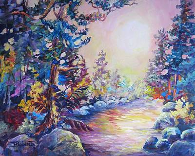 Painting - My Favourite Place by Bonny Roberts