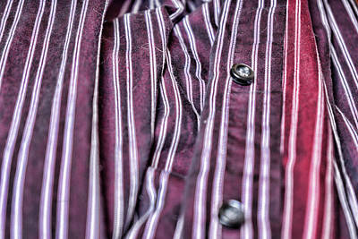 Photograph - My Husbands Shirt by Sharon Popek