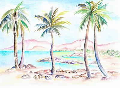 Painting - My Island by Elizabeth Lock