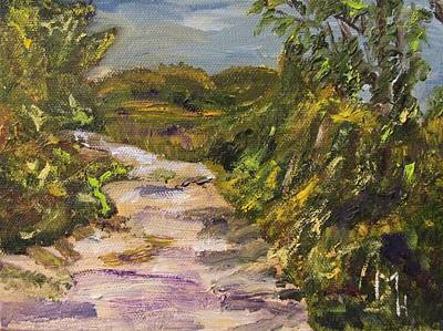Painting - My Path by Michael Helfen