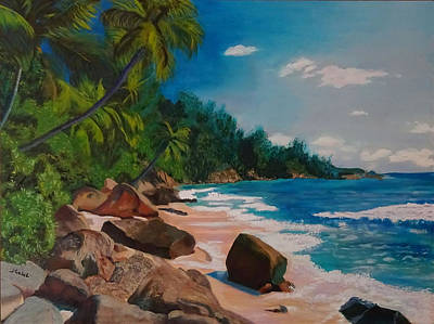 Painting - My Puerto Rico by Laura Gabel