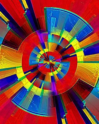 Digital Art - My Radar In Color by David Manlove