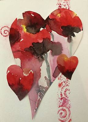Painting - My Valentine Four by Tara Moorman