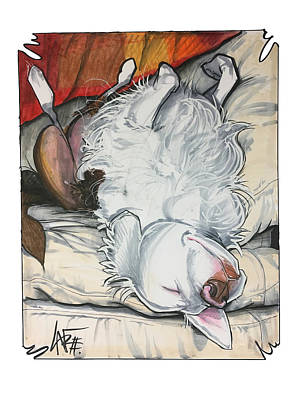 Drawing - Myers 4786 by John LaFree
