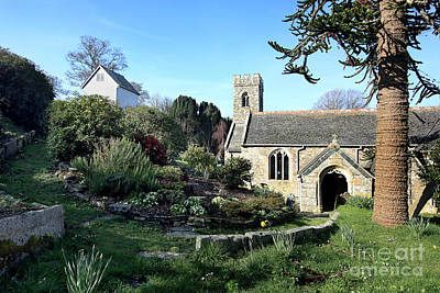 Photograph - Mylor Church In Spring by Terri Waters