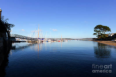 Photograph - Mylor Harbour View by Terri Waters