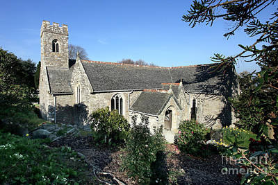 Photograph - Mylor Parish Church by Terri Waters