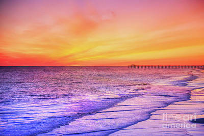 Route 66 - Myrtle Beach Sunset by Randy Steele