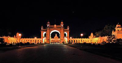Karnataka Photograph - Mysore Palace by Achuthan C K