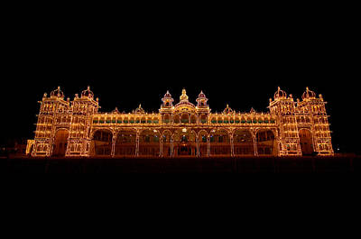 Karnataka Photograph - Mysore Palace by Thezionview By Prabeesh Raman