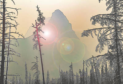 Wall Art - Photograph - Mysterious Mountain by Roslyn Wilkins