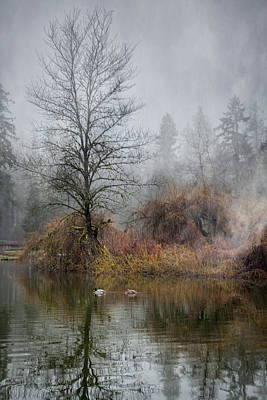 Photograph - Mystic Lake by Jacqui Boonstra