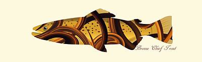 Fruits And Vegetables Still Life - Mystic Trout- Bronze Chief by Whispering Peaks Photography