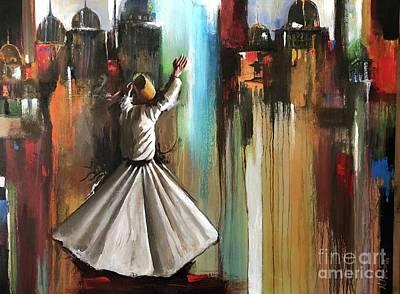 Painting - Mystical Journey  by Nizar MacNojia