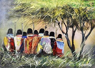 Painting - N-206 by John Ndambo