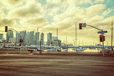 Photograph - N. Harbor Drive Vintage by Joseph S Giacalone