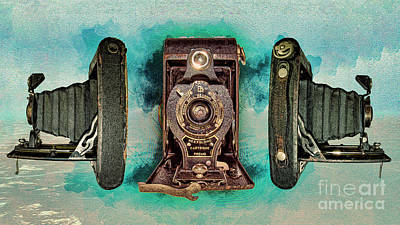 Thomas Kinkade Royalty Free Images - N0. 2 Ball Bearing Shutter Clr Royalty-Free Image by Anthony Ellis