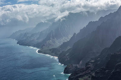 Photograph - Na Pali Coast By Air, No. 1 by Belinda Greb