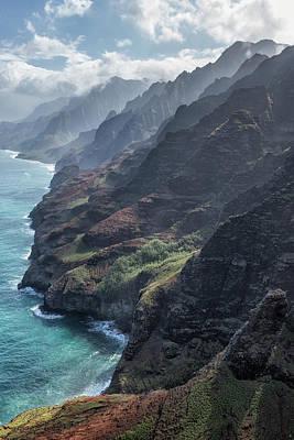 Photograph - Na Pali Coast By Air, No. 2 by Belinda Greb