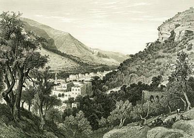 Photograph - Nablus 1881 by Munir Alawi