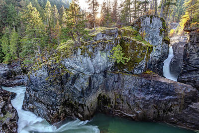 Art Print featuring the photograph Nairn Falls Of Pemberton, Bc by Pierre Leclerc Photography