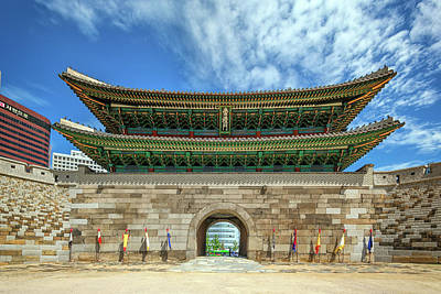 Photograph - Namdaemun by Rick Berk