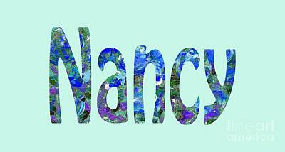 Digital Art - Nancy by Corinne Carroll