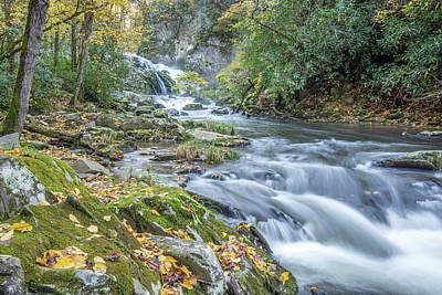 Photograph - Nantahala Fall Flow by David R Robinson