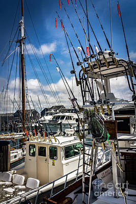 Photograph - Nantucket Gone Fishing Series 6570 by Carlos Diaz