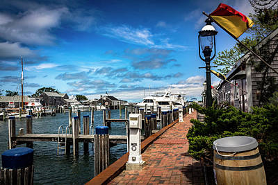 Photograph - Nantucket Harbor Series 6593 by Carlos Diaz