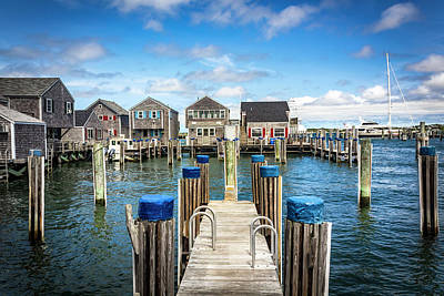 Photograph - Nantucket Harbor Series 6630 by Carlos Diaz