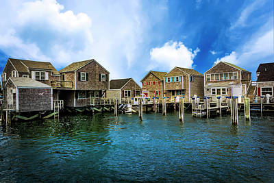 Photograph - Nantucket Harbor Series 6632 by Carlos Diaz