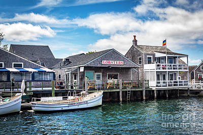 Photograph - Nantucket Harbor Series 7126 by Carlos Diaz