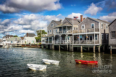Photograph - Nantucket Harbor Series 7162 by Carlos Diaz