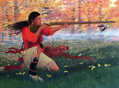 Painting - Nanyehi at Taliwa by John Guthrie
