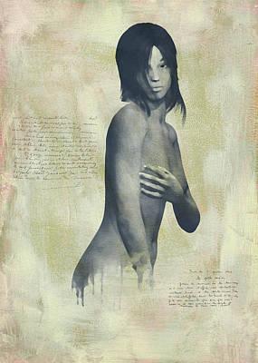 Digital Art - Naomi by Jan Keteleer
