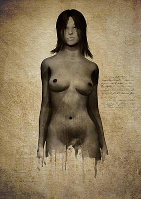Digital Art - Naomi Standing In Front by Jan Keteleer