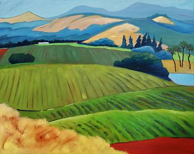 Painting - Napa by Gary Coleman