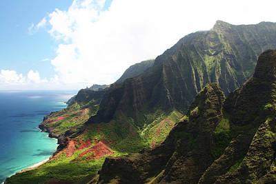 Photograph - Napali Coast - Kauai, Hawaii by Jonhortondesign