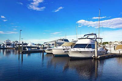 Photograph - Boats In Naples Florida Series 9247 by Carlos Diaz