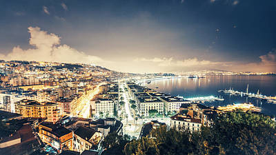Photograph - Naples View by Peeterv